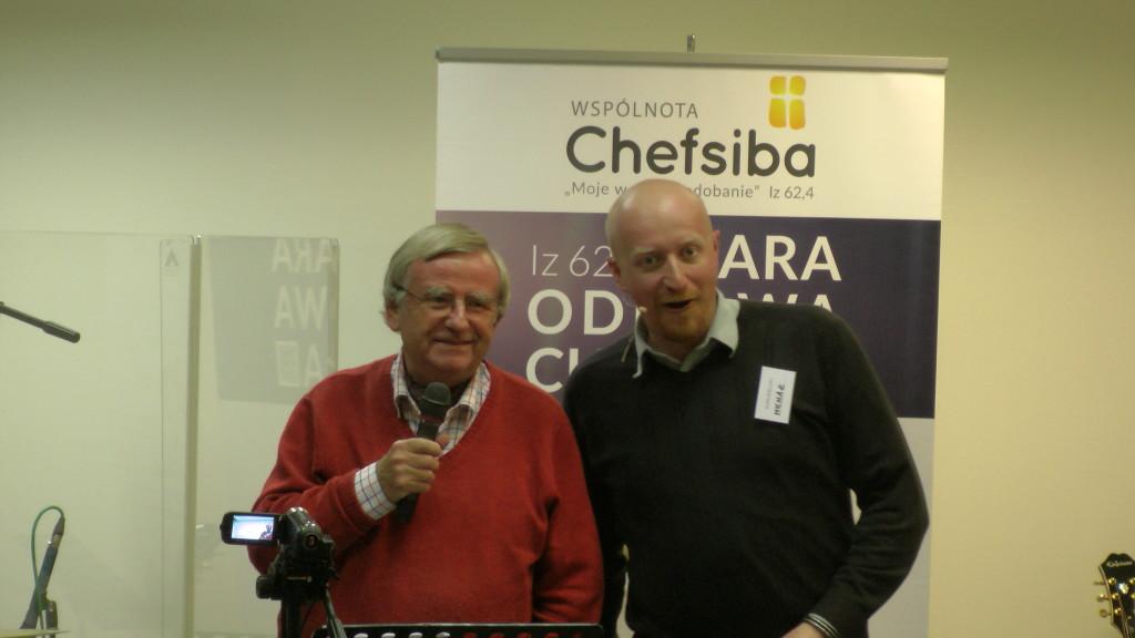 Charles Whitehead, Michał Nikodem (org. Chefsiba)